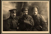 Офицеры 292-го Малоархангельского полка 73-й пехотной дивизии 10-й русской армии.