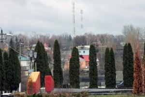Осень в Малоархангельске, ноябрь 2010 г.