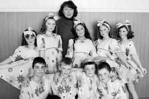 Н.Н. Токмакова и ее воспитанники