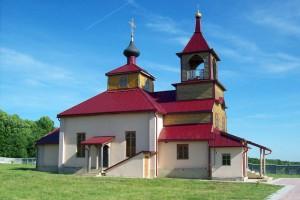 Михаило-Архангельская церковь в Дросково Орловской области, 2010 год.