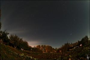 Ночное небо над Орловщиной. Фото by Cepree4.