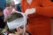 Эта голова в надёжный руках Чумаковой Ларисы Викторовны, кл. рук. 8 класса.