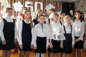 Детской школе искусств г. Малоархангельска — 50. Выступление воспитанников школы.