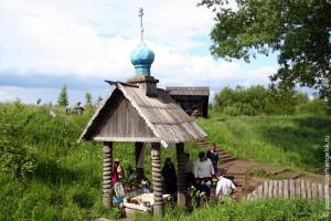 Андреевский колодец, общий вид. Фото 2006 г.