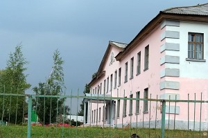 Малоархангельская средняя школа № 2 в 2009 году.