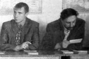 Малоархангельские делегаты межрайонного семинара в Глазуновке изучают передовой опыт глазуновцев.