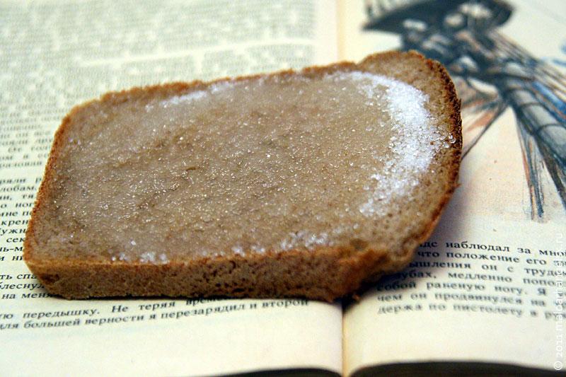 Хлеб с сахаром рецепт