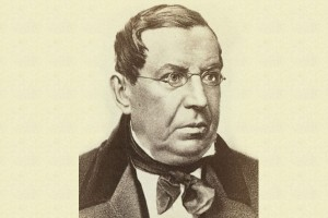 Историк Николай Герасимович Устрялов. Фото сделано между 1850 и 1855 г.г.