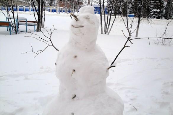 Снеговичка.