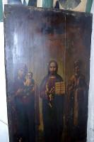 Единственная сохранившаяся икона храма, спасённая С. А. Головиным.