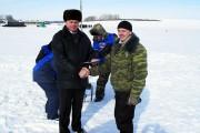 Первое место среди самых молодых рыболов занял А. Кванин.