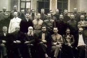 Участники совещания по винокуренной промышленности. Орёл, 1925 год. Среди участников — Л. Е. Столяров.