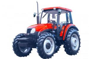 Трактор YTO-X804 разработан на основе патентной техники итальянских колесных тракторов FLAT.