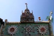 Кремль деревни Медведево, крупный план.