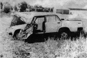 25 июня 1998 года А. В. Кураченков, сторож ДУ, «под хмельком» угнал автомобиль «ВАЗ-2105» стоявший на территории дорожного участка и опрокинул его в селе Губкино.