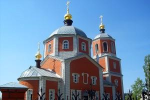Храм Михаила Архангела в Малоархангельске. 2009 год.