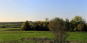 Панорама села Вторая Ивань Малоархангельского района. Нажмите на изображение, чтобы перейти к осмотру (откроется в новом окне).