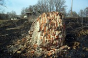 То, что осталось от Владимирской церкви села Столбецкое.