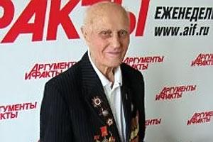 87-летний озерчанин Владимир Борисов освобождал Малоархангельск.