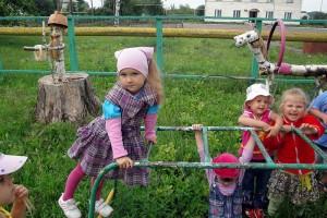 Детский садик поселка Станция Малоархангельск.