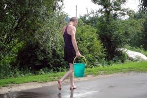 День Ивана Купалы в Малоархангельске: за новой порцией воды.