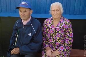 Участник Великой Отечественной войны В. А. Аничкин с супругой.