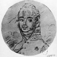 Яков Скарятин в 1804 году, портрет работы Дешатобура, 1804 г.