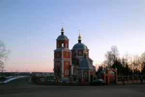 Малоархангельский храм Михаила Архангела.
