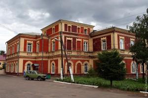 Здание Малоархангельской районной больницы.