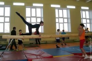 Соревнования по гимнастике в Малоархангельске.