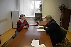 Уполномоченный по правам ребенка в области Поляков В. В. в Малоархангельском районе.