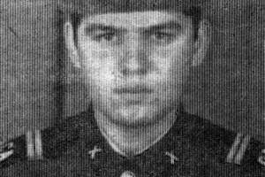 Младший сержант О. Н. Ревякин. 1986 год.
