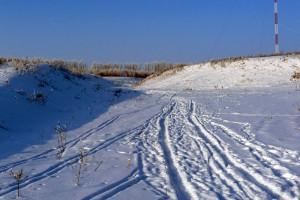 Зима в Малоархангельске.