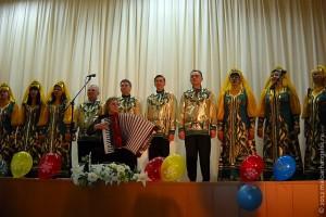 В кинотеатре «Колос» состоялся праздничный концерт.