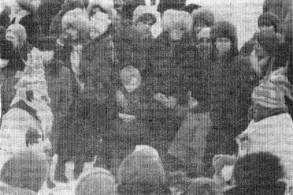 Праздник русской зимы, 1984 год.