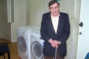 Житель Луковского дома ветеранов.
