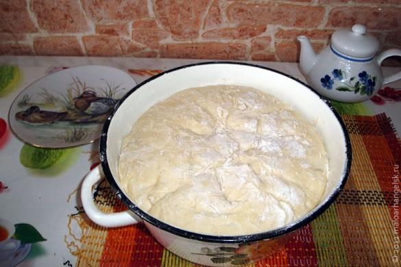 Тесто для постных пирожков.
