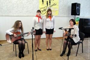 Фестиваль бардовской песни в Малоархангельске.