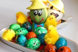 Пасхальные яйца.