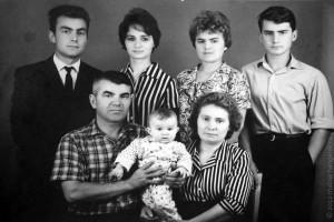 Большая семья Разинковых.