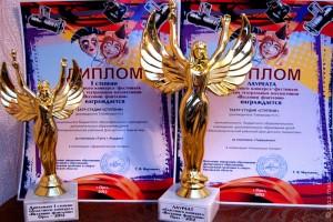 Малоархангельский театр-студия «Ступени» удостоен двух Богинь Победы в номинации «Кукольный театр».