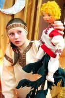 Татьяна Курапова в спектакле «Терёшечка».