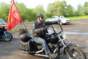 Мотопробег 9 мая в Малоархангельске.