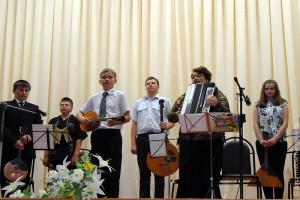 Юные музыканты Малоархангельска.