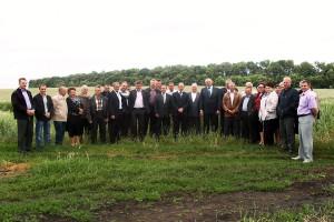 Участники районной взаимопроверки посевов.