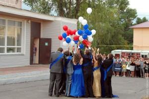 Выпускной 2012 года в Малоархангельске.