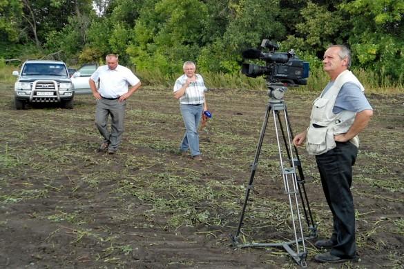 Журналисты с орловского телевидения.