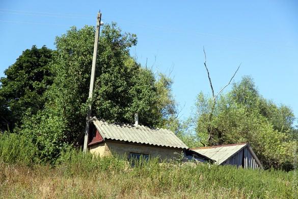 Старый дом в Каменке.