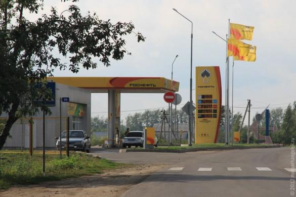 Заправка в Малоархангельске, цены на бензин.