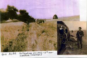 Фото бывшего пилота люфтваффе Вильгельм Криссман.